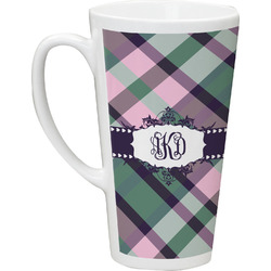 Plaid with Pop Latte Mug (Personalized)
