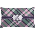 Plaid with Pop Pillow Case (Personalized)