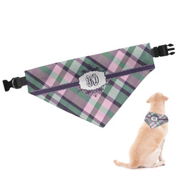 Plaid with Pop Dog Bandana (Personalized)
