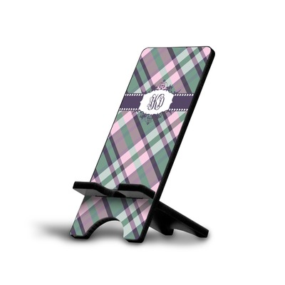 Plaid with Pop Cell Phone Stands (Personalized)