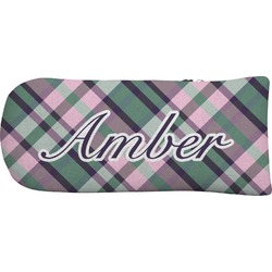 Plaid with Pop Putter Cover (Personalized)