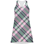 Plaid with Pop Racerback Dress (Personalized)