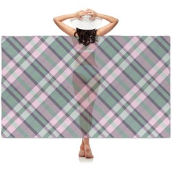 Plaid with Pop Sheer Sarong (Personalized)
