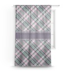 Plaid with Pop Sheer Curtains (Personalized)