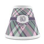 Plaid with Pop Chandelier Lamp Shade (Personalized)