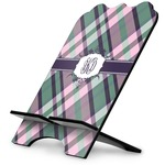 Plaid with Pop Stylized Tablet Stand (Personalized)