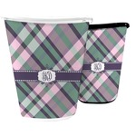 Plaid with Pop Waste Basket (Personalized)