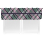 Plaid with Pop Valance (Personalized)