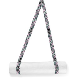 Plaid with Pop Yoga Mat Strap (Personalized)
