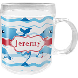 Dolphins Acrylic Kids Mug (Personalized)