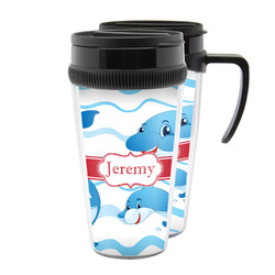 Dolphins Acrylic Travel Mugs (Personalized)