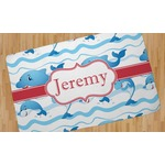 Dolphins Area Rug (Personalized)