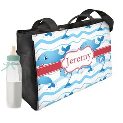 Dolphins Diaper Bag (Personalized)