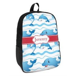 Dolphins Kids Backpack (Personalized)