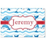 Dolphins Woven Mat (Personalized)