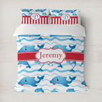 Dolphins Duvet Cover (Personalized)