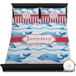 Dolphins Duvet Cover Set (Personalized)