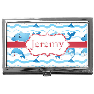 Dolphins Business Card Case