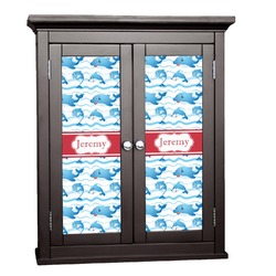 Dolphins Cabinet Decal - Custom Size (Personalized)