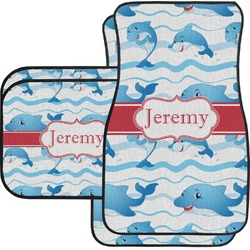 Dolphins Car Floor Mats (Personalized)