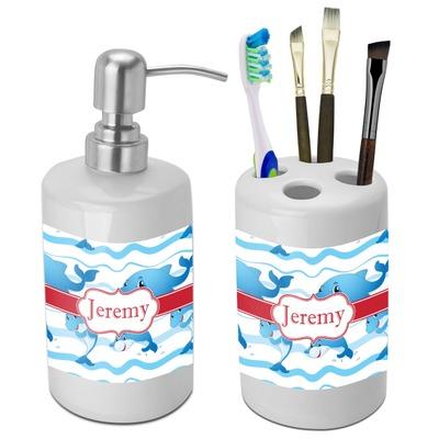 Dolphin bathroom accessories