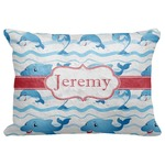 "Dolphins Decorative Baby Pillowcase - 16""x12"" (Personalized)"