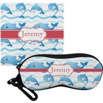 Dolphins Eyeglass Case & Cloth (Personalized)
