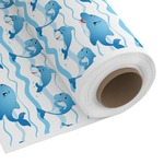 Dolphins Custom Fabric by the Yard (Personalized)