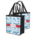 Dolphins Grocery Bag (Personalized)