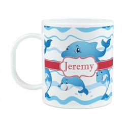 Dolphins Plastic Kids Mug (Personalized)