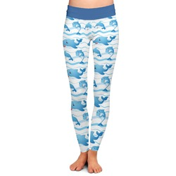 Dolphins Ladies Leggings (Personalized)