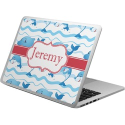 Dolphins Laptop Skin - Custom Sized (Personalized)