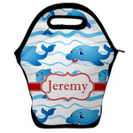 Dolphins Lunch Bag w/ Name or Text