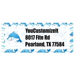 Dolphins Return Address Labels (Personalized)