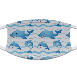 Dolphins Cloth Face Mask (T-Shirt Fabric) (Personalized)