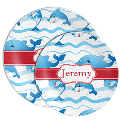 Dolphins Melamine Plate (Personalized)