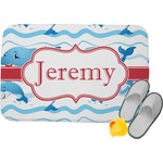 Dolphins Memory Foam Bath Mat (Personalized)