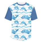 Dolphins Men's Crew T-Shirt (Personalized)
