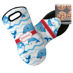 Dolphins Neoprene Oven Mitt (Personalized)