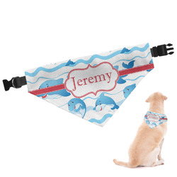 Dolphins Dog Bandana (Personalized)