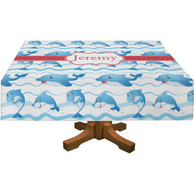 "Dolphins Tablecloth - 58""x102"" (Personalized)"