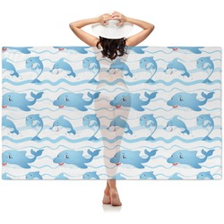 Dolphins Sheer Sarong (Personalized)