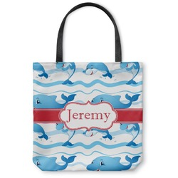 Dolphins Canvas Tote Bag (Personalized)