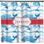 Dolphins Shower Curtain (Personalized)