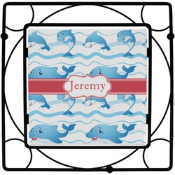 Dolphins Square Trivet (Personalized)
