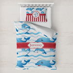 Dolphins Toddler Bedding w/ Name or Text