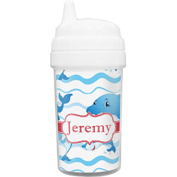 Dolphins Toddler Sippy Cup (Personalized)