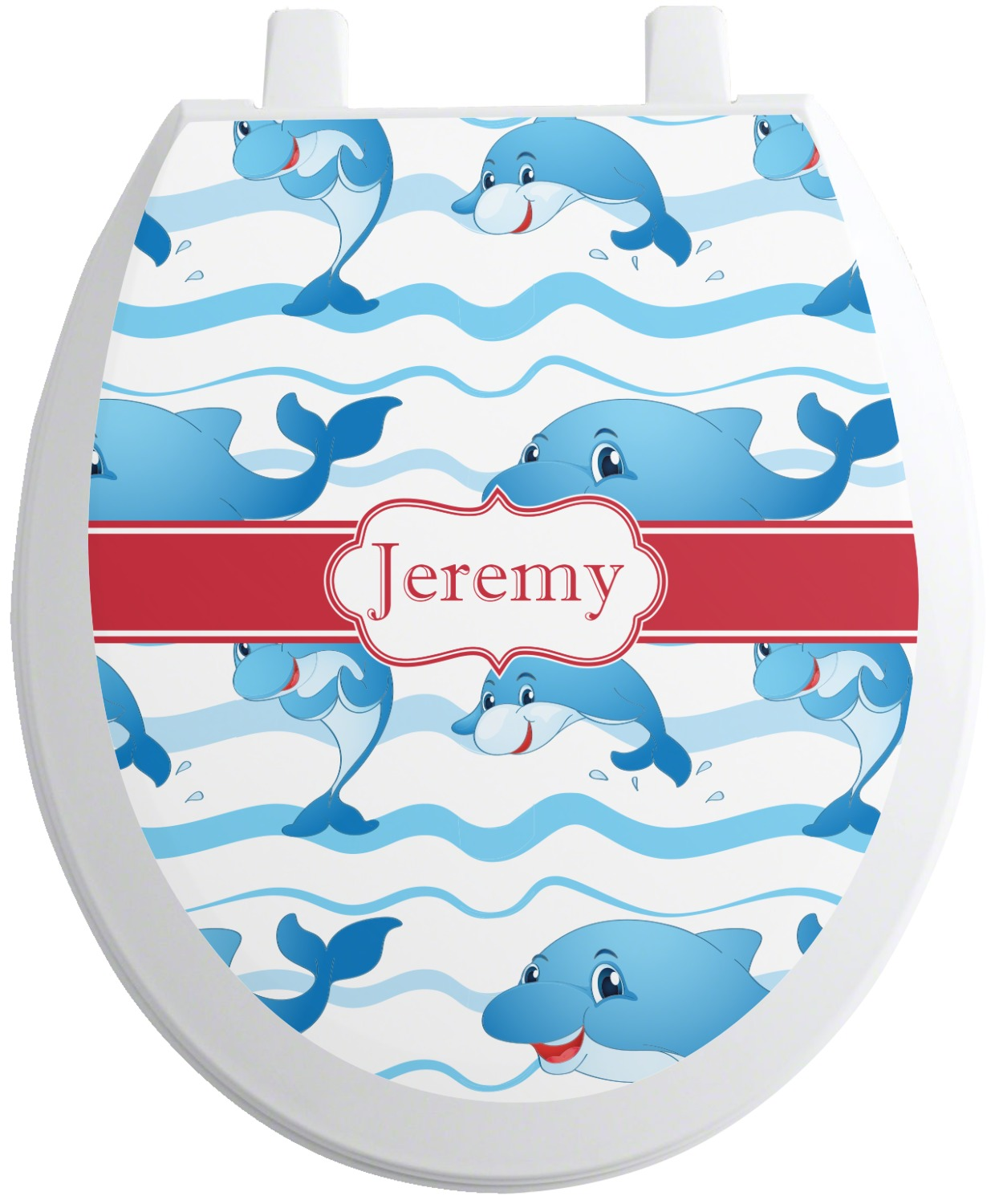 Pleasant Dolphins Toilet Seat Decal Personalized Ibusinesslaw Wood Chair Design Ideas Ibusinesslaworg
