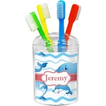 Dolphins Toothbrush Holder (Personalized)