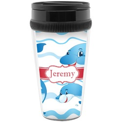 Dolphins Travel Mugs (Personalized)